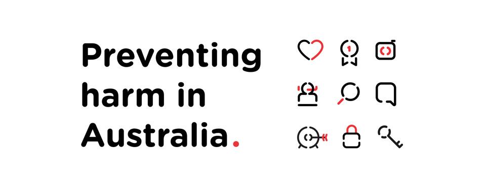 La identidad de la Fundación Australiana contra la droga rediseñada por Saffron - tipografía e iconos