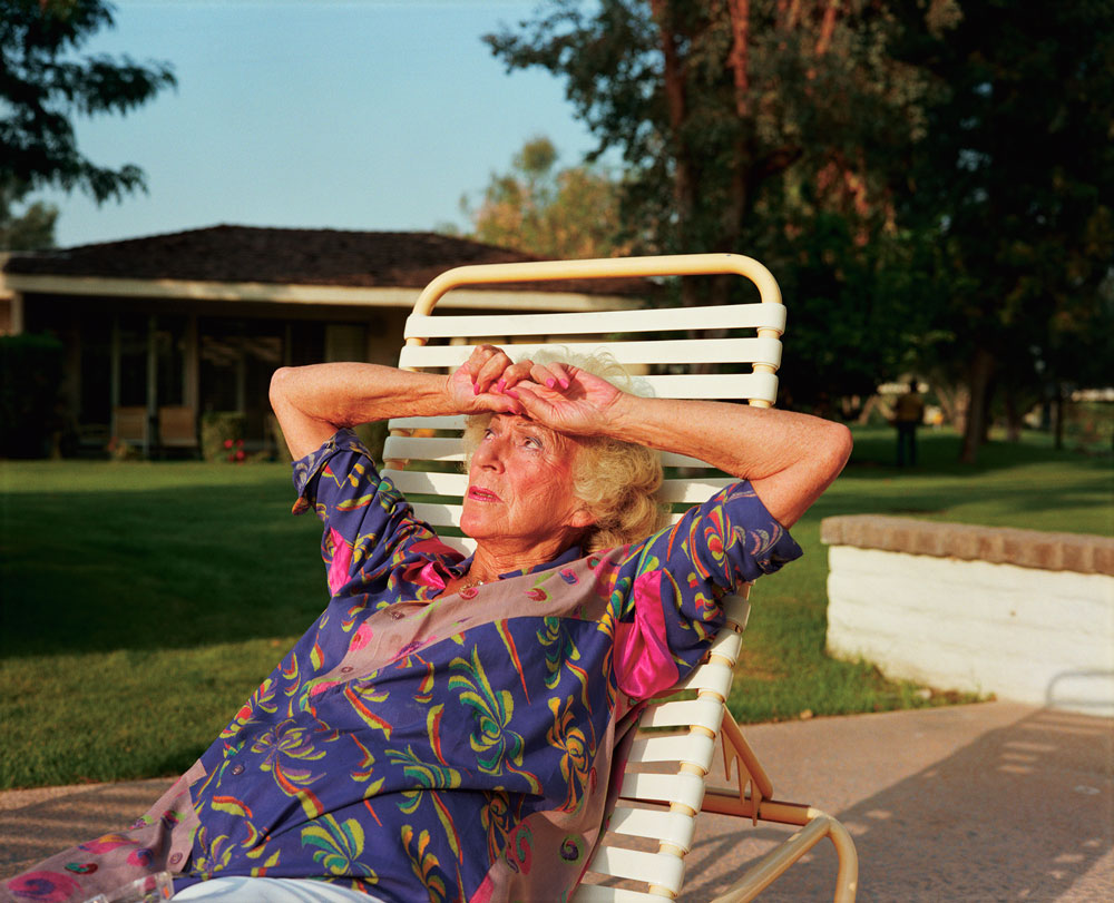 'Mom on Chaise Lounge' de la serie 'Homeland' de Larry Sultan