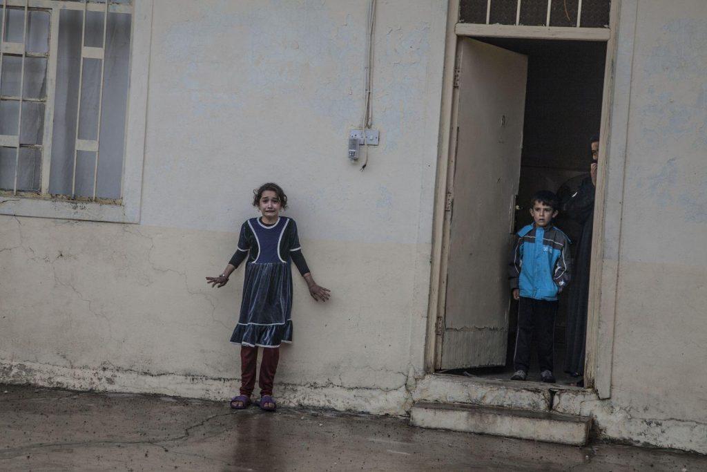 Laurent Van der Stockt (Francia) por Offensive on Mosul