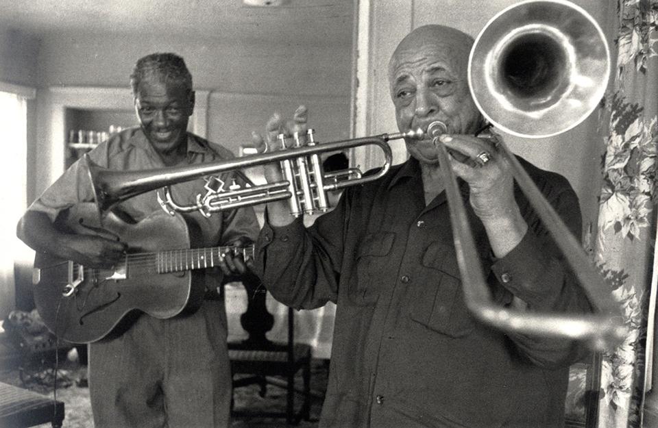 Músicos de jazz retratados por Lee Friedlander