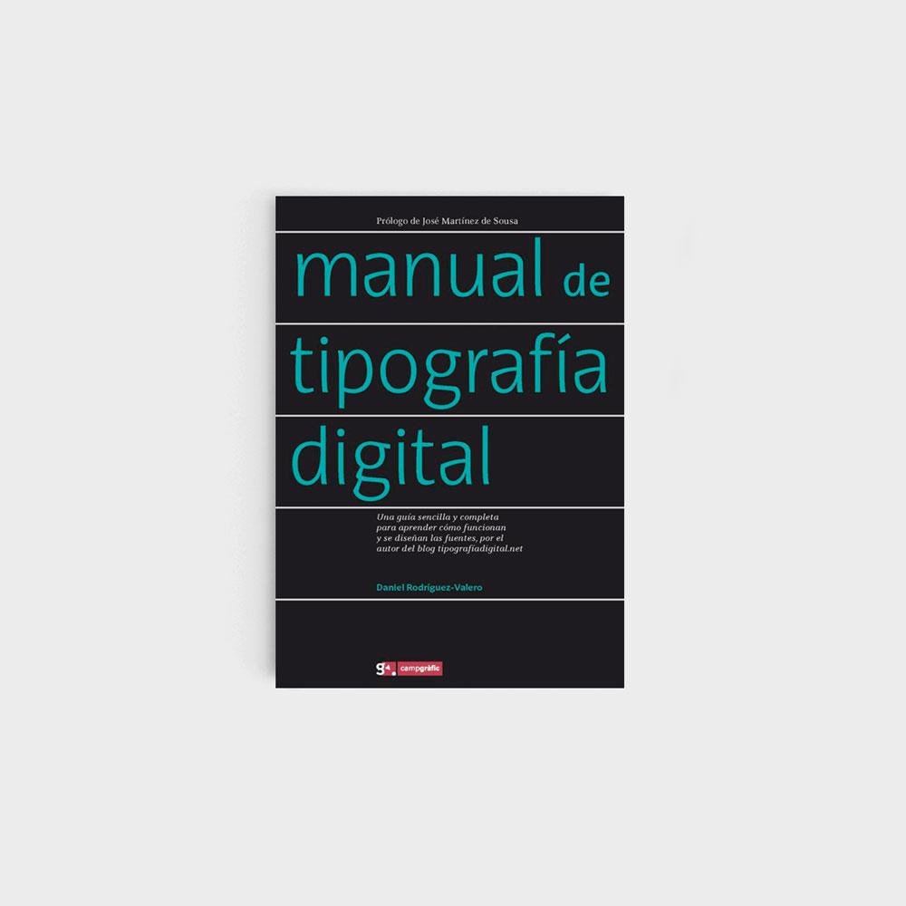'Manual de tipografía digital' es uno de nuestros libros para creativos
