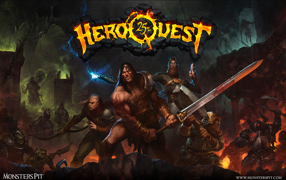 Monsters Pit - Hero Quest1