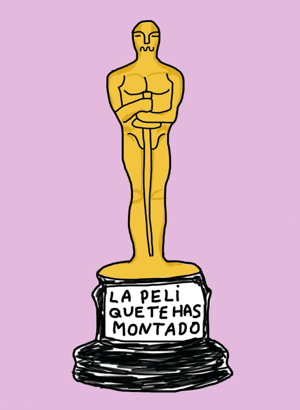 Viñeta Oscar de Monstruo Espagueti - Anastasia Bengoechea