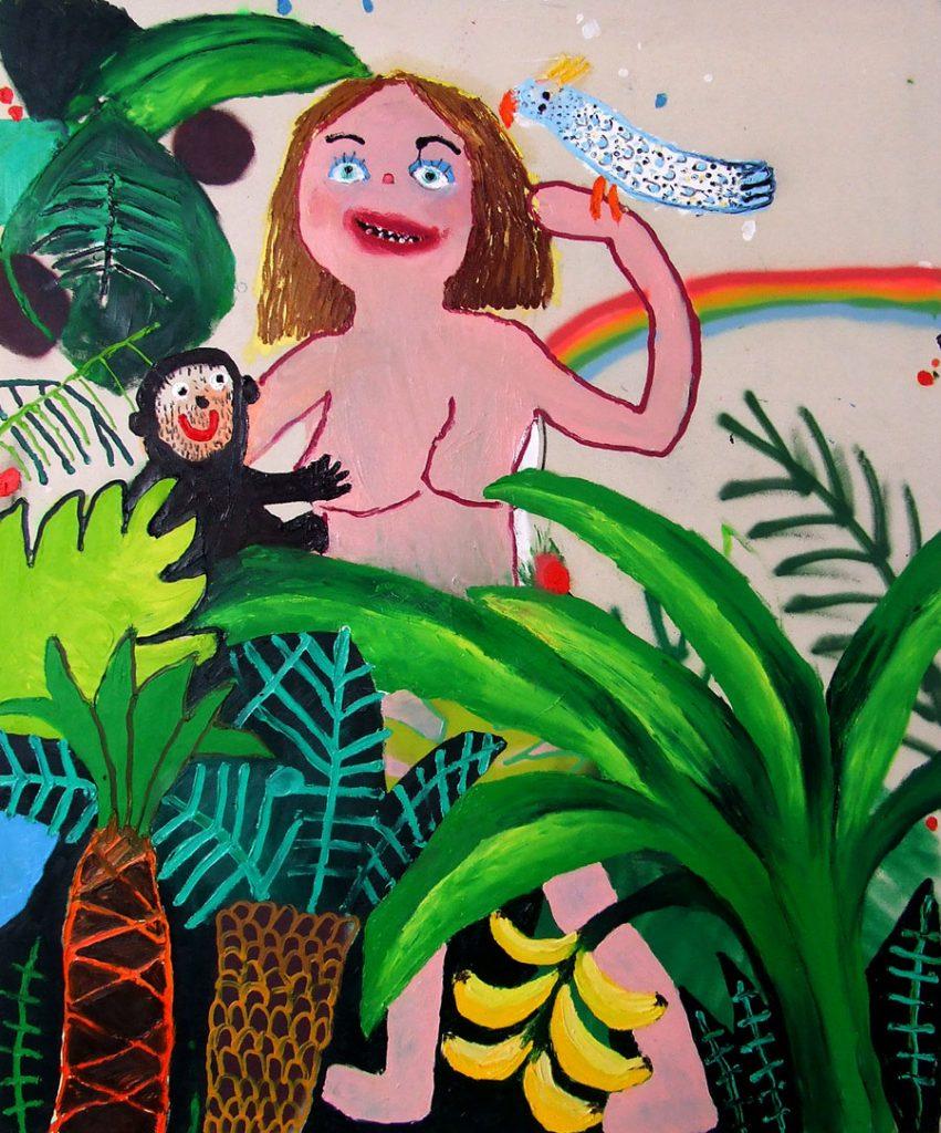 Bel Fullana, 'Tarzana' en Mujeres Mirando Mujeres