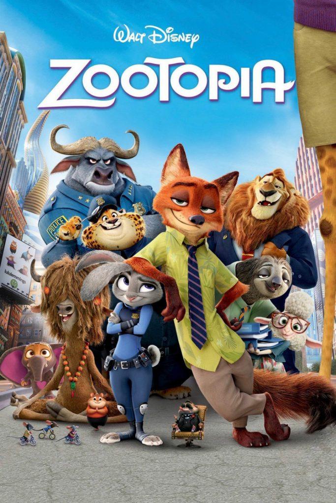 Zootrópolis, galardonada con el Óscar a la mejor película de animación