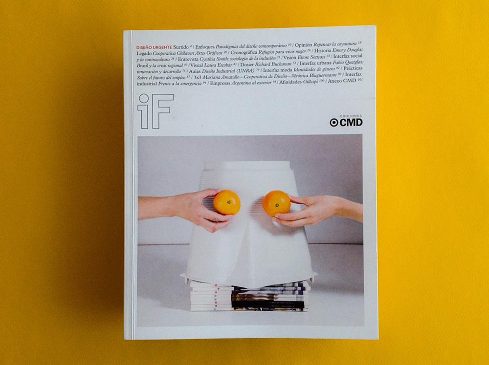 Revista IF, Diseño Urgente: problemáticas abiertas del diseño social - 1