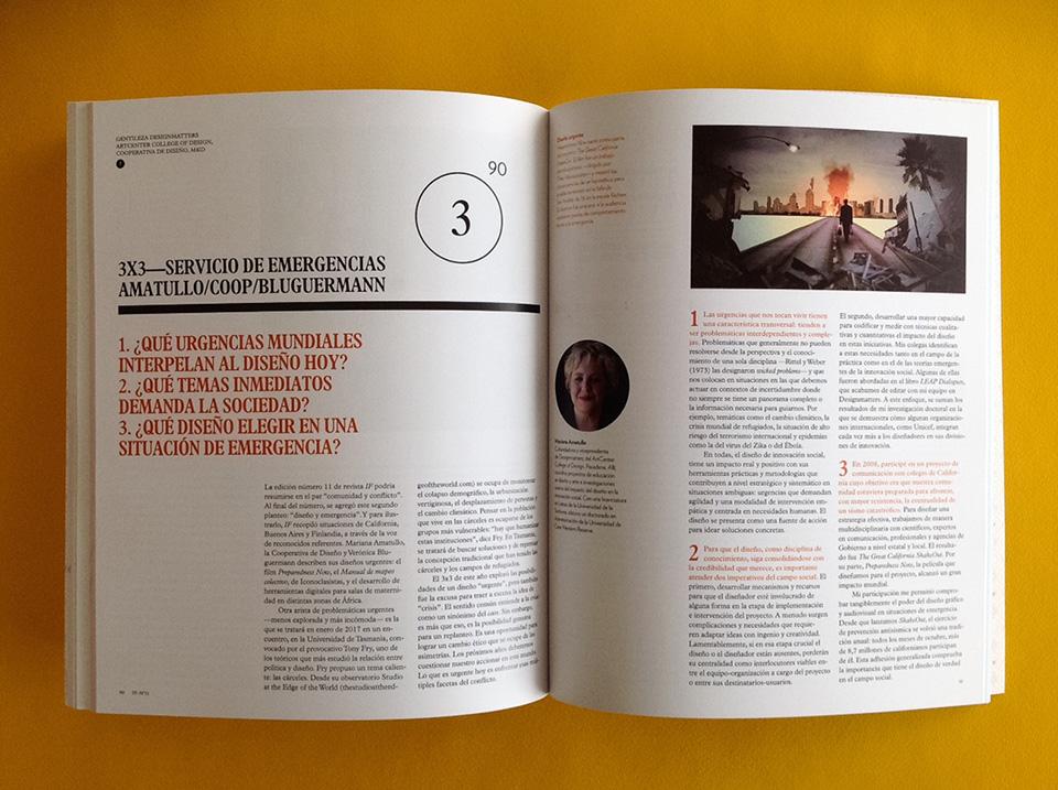 Revista IF, Diseño Urgente: problemáticas abiertas del diseño social - 4