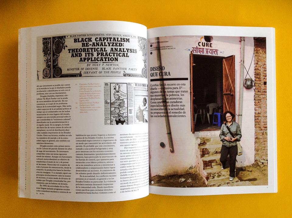 Revista IF, Diseño Urgente: problemáticas abiertas del diseño social - 2