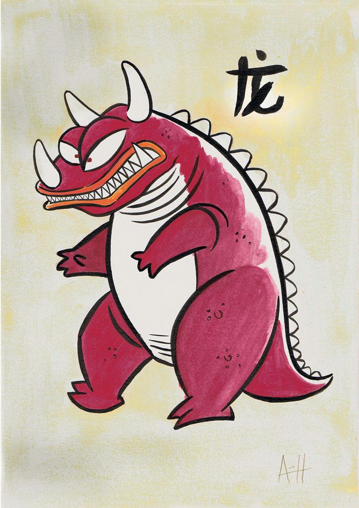 Roberto Arguelles, Dragon