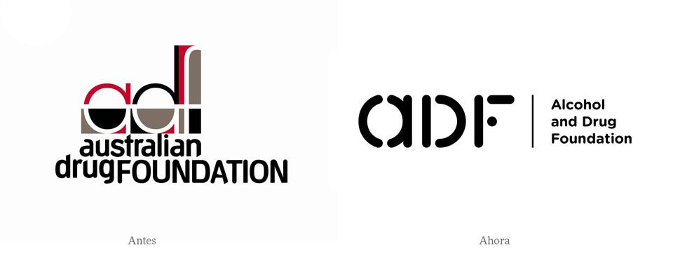 ADF comparativa de logos