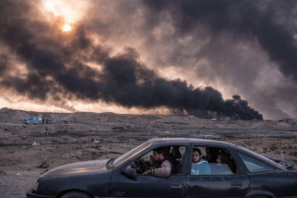 Sergey Ponomarev (Rusia) por Iraq's Battle to Reclaim Its Cities