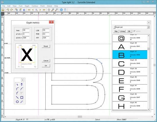 Type light, la herramienta gratuita para crear y editar fuentes - 2