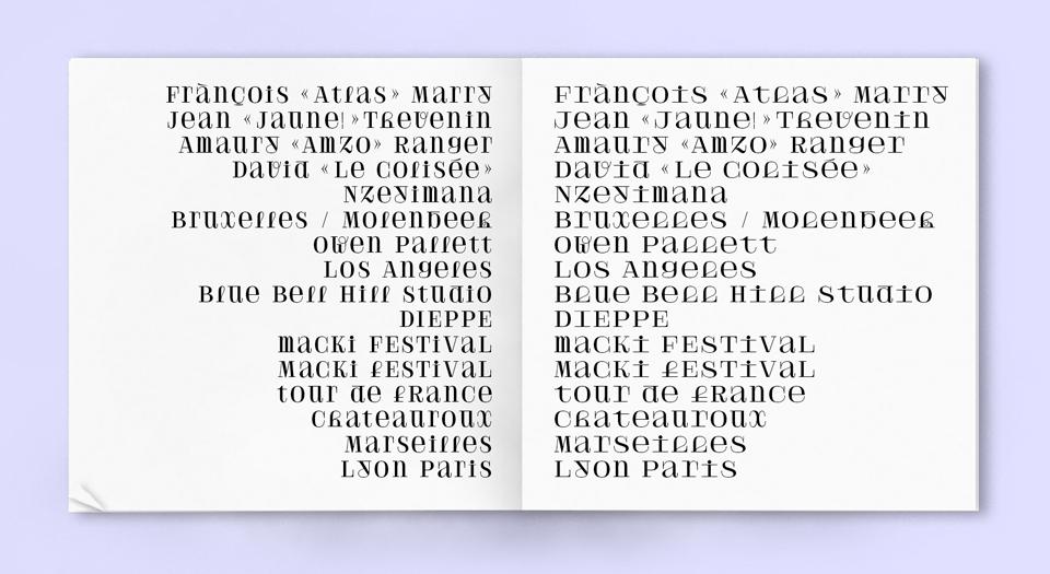 ¿Cómo diseñarías una tipografía para un grupo de música que combina indie pop, folk pop y ritmos africanos? - Velvetyne Type Foundry - 2