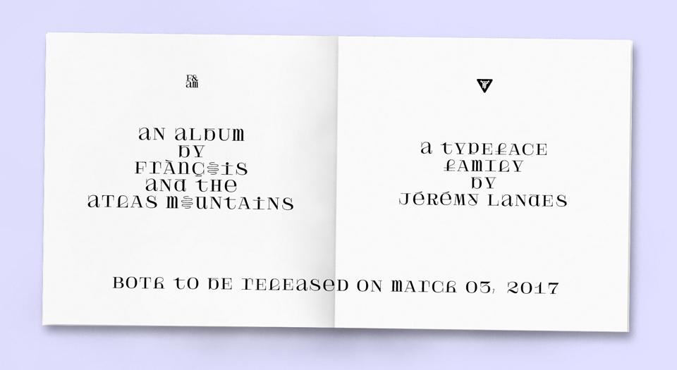 ¿Cómo diseñarías una tipografía para un grupo de música que combina indie pop, folk pop y ritmos africanos? - Velvetyne Type Foundry - 4