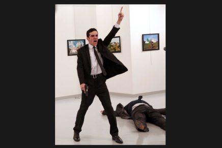 La imagen del asesinato del embajador ruso en Turquía como foto del año en World Press Photo 2017