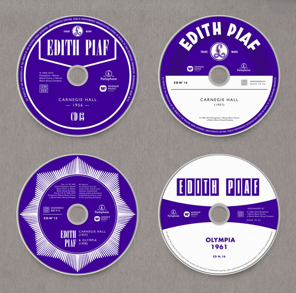 Edith Piaf, Grammy 2017 al Mejor Diseño de Packaging - 3