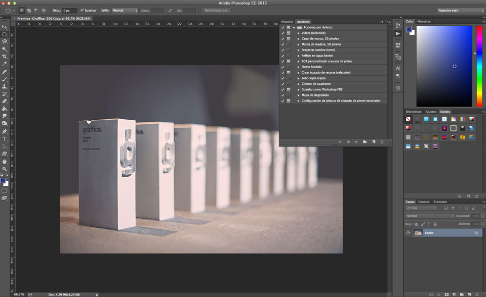 10 Acciones de Photoshop gratuitas que agilizarán y mejorarán tu trabajo - 1