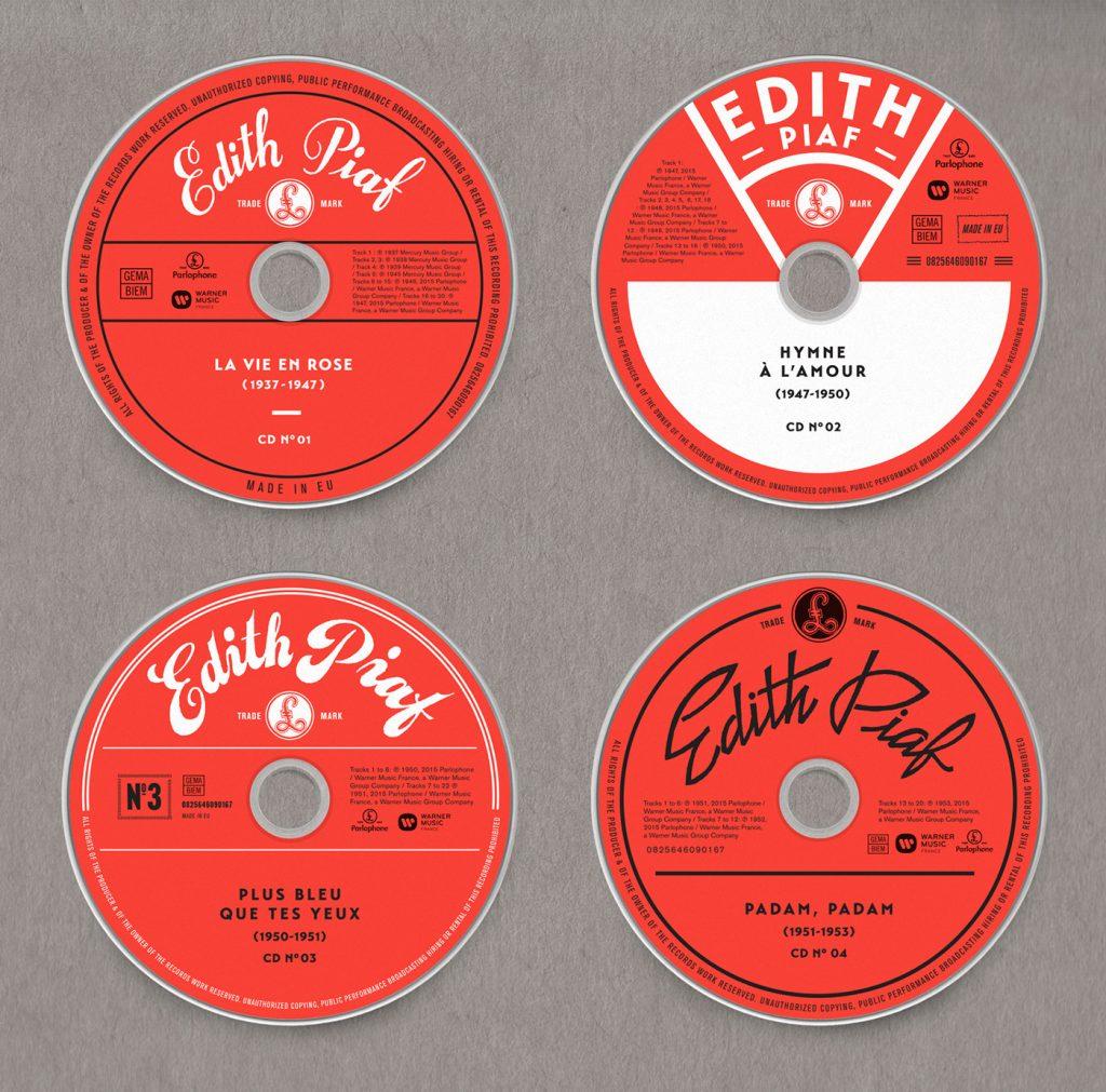 Edith Piaf, Grammy 2017 al Mejor Diseño de Packaging - 4