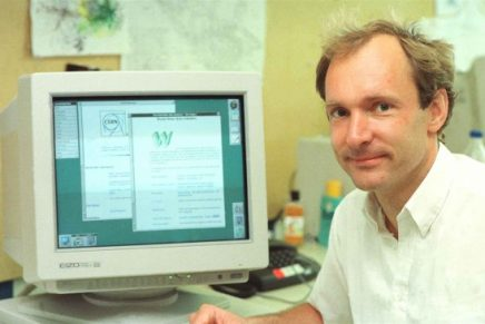 ¿Quién creó la primera página web?