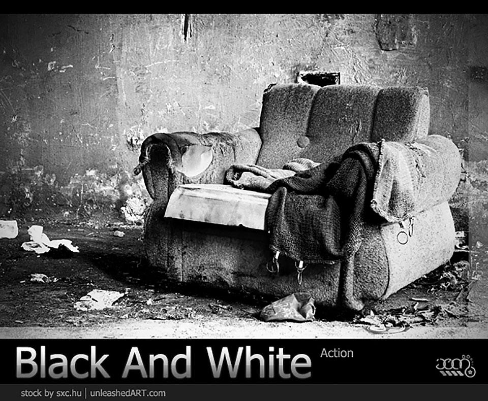 Blanco y negro por Jean31