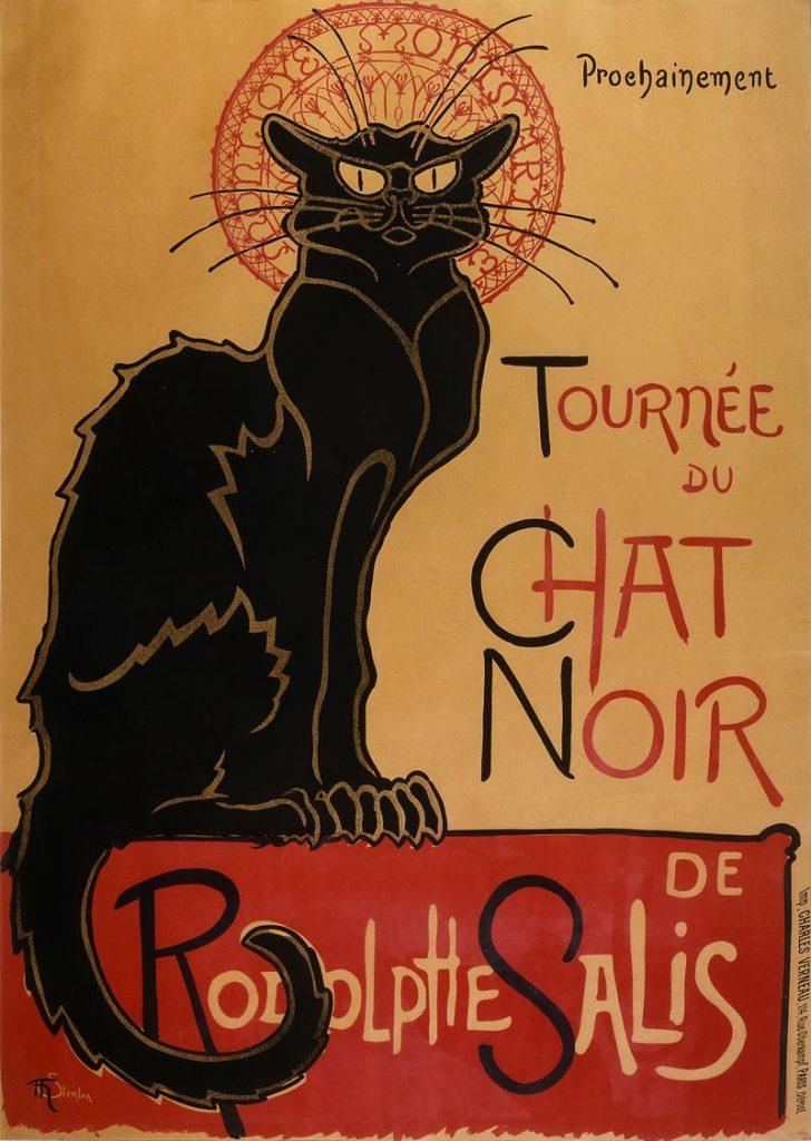 Le Chat Noir, Steinlen