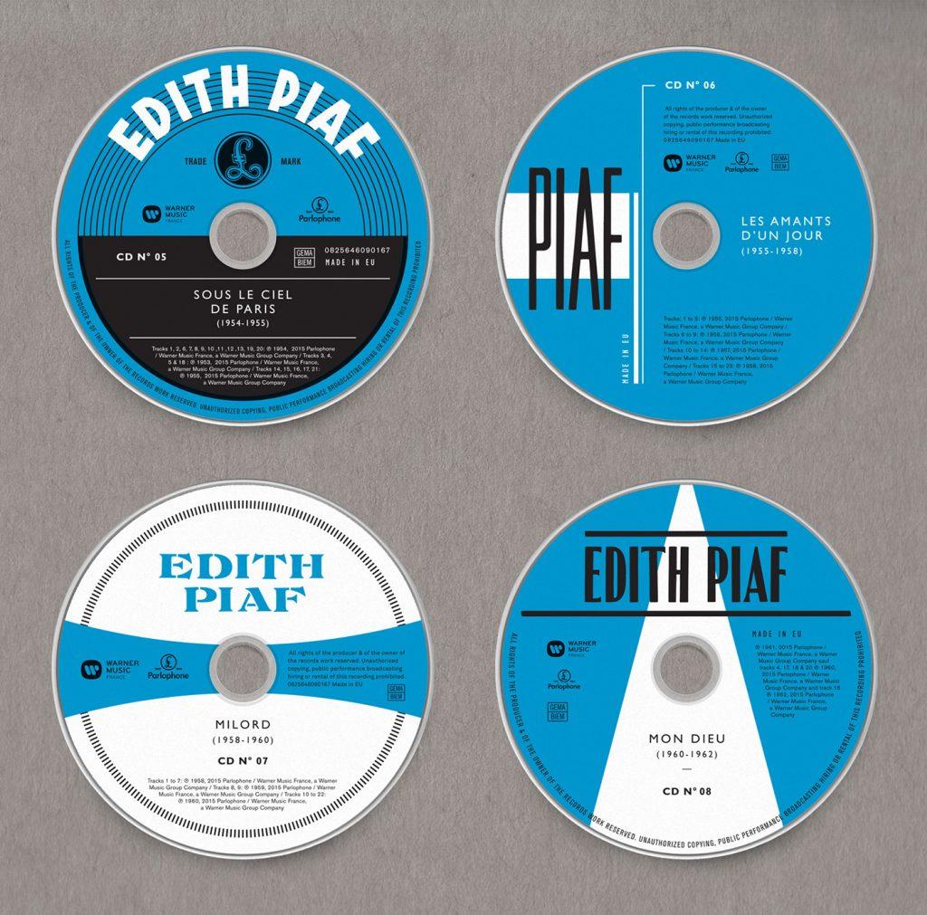 Edith Piaf, Grammy 2017 al Mejor Diseño de Packaging - 5