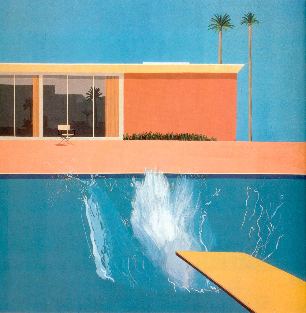La mayor retrospectiva de David Hockney en el Tate