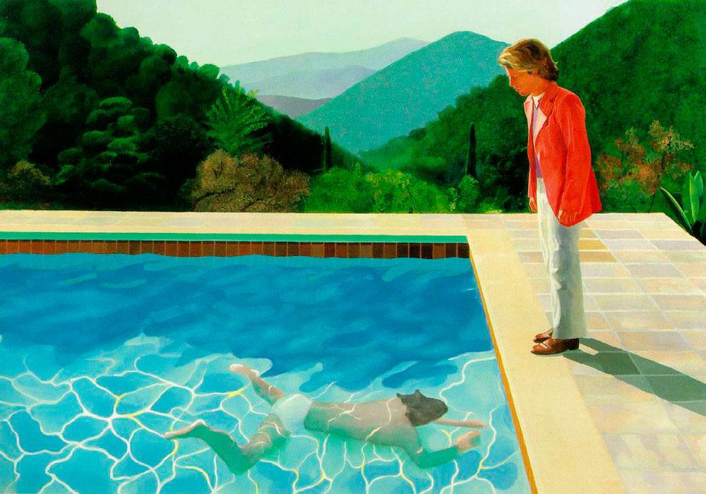 La mayor retrospectiva de David Hockney en el Tate