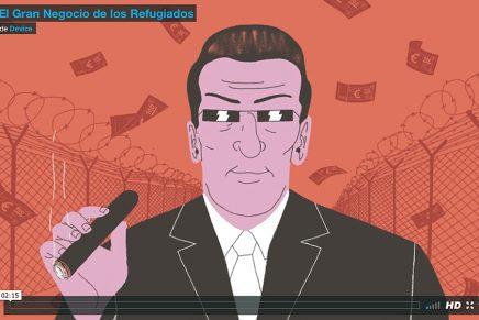 'El Gran Negocio de los Refugiados', la sátira sobre la crisis de valores y de derechos de Europa hecha animación, por Device