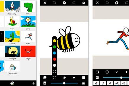 Folioscope, la app gratuita para dibujar 'storyboards' rápidos en tu móvil