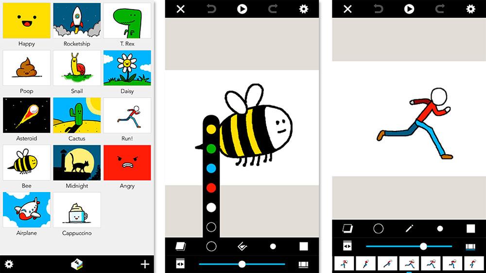 Folioscope, la app para animaciones rápidas y sencillas