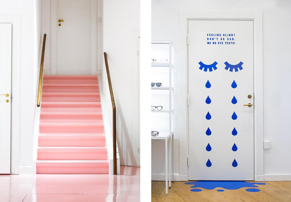 Snask también se encargó del diseño de la flagship de Kaibosh. Un espacio que tiene la originalidad propia de las marcas del norte de Europa que tanto nos gusta: una mezcla perfecta de creatividad, minimalismo y unas paletas de color atrevidas.