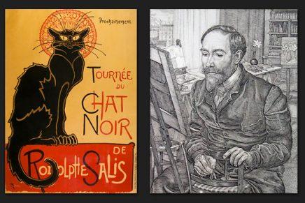 ¿Quién diseñó el cartel de Chat Noir?