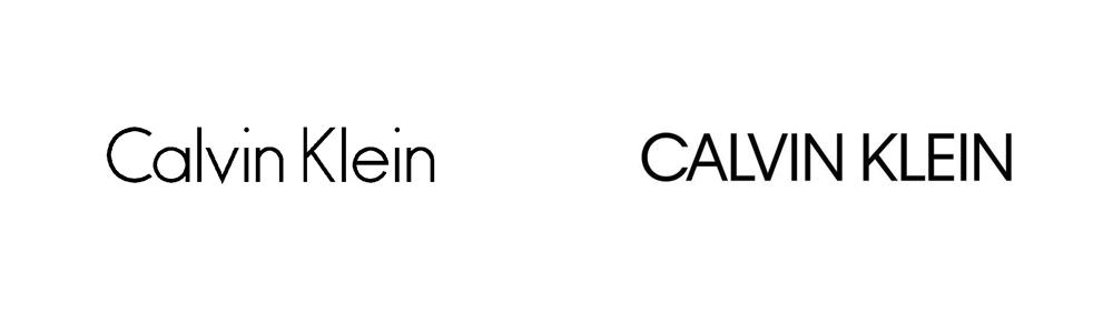 Calvin Klein cambia su logotipo pero no sabemos por qué o para qué - logo Calvin Klein