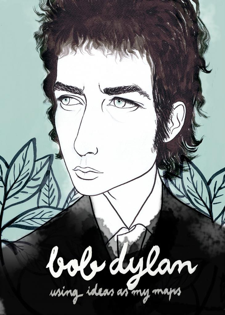 Bob Dylan por Elena Mir