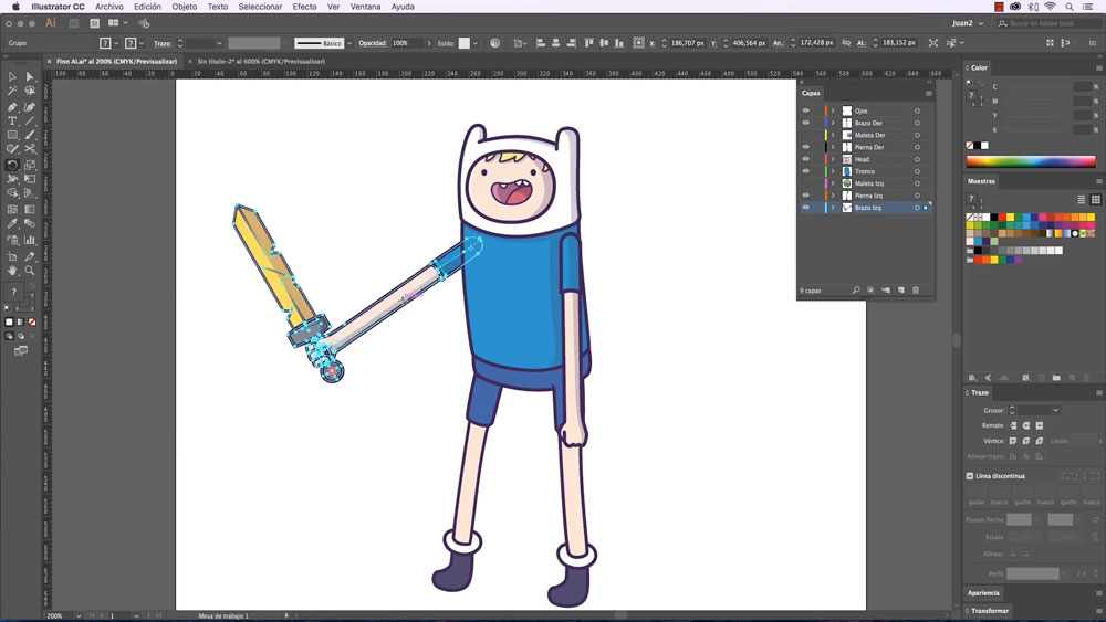 Aprende animación 2D desde cero con Illustrator y After Effects