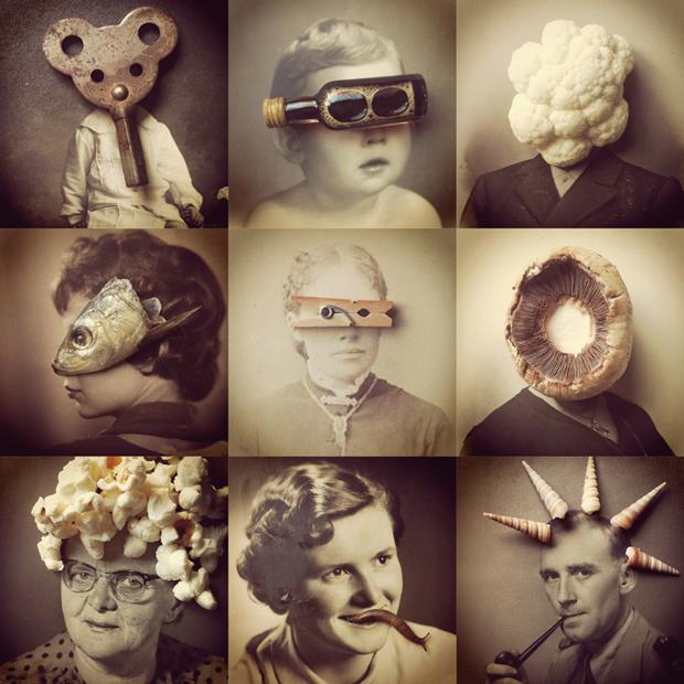 Ilustraciones de la serie de Antihéroes, por Susana Blasco