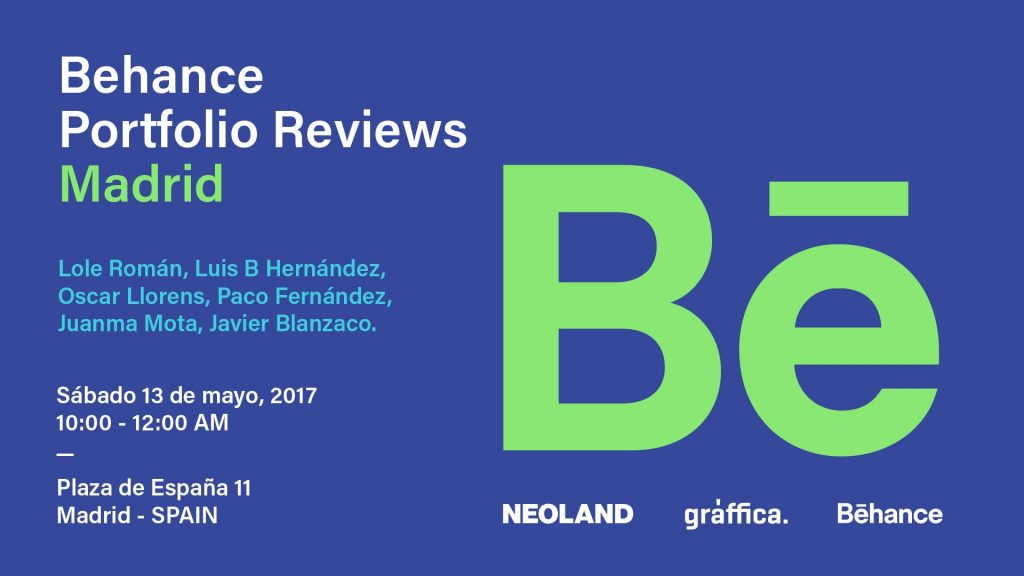 Behance Portfolio Reviews Madrid 2017 - 2