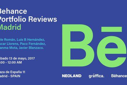 Behance Portfolio Reviews Madrid 2017
