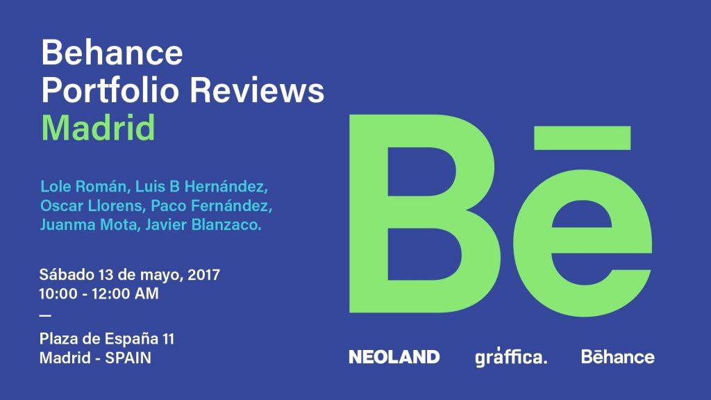 Behance Portfolio Reviews Madrid 2017 - 2