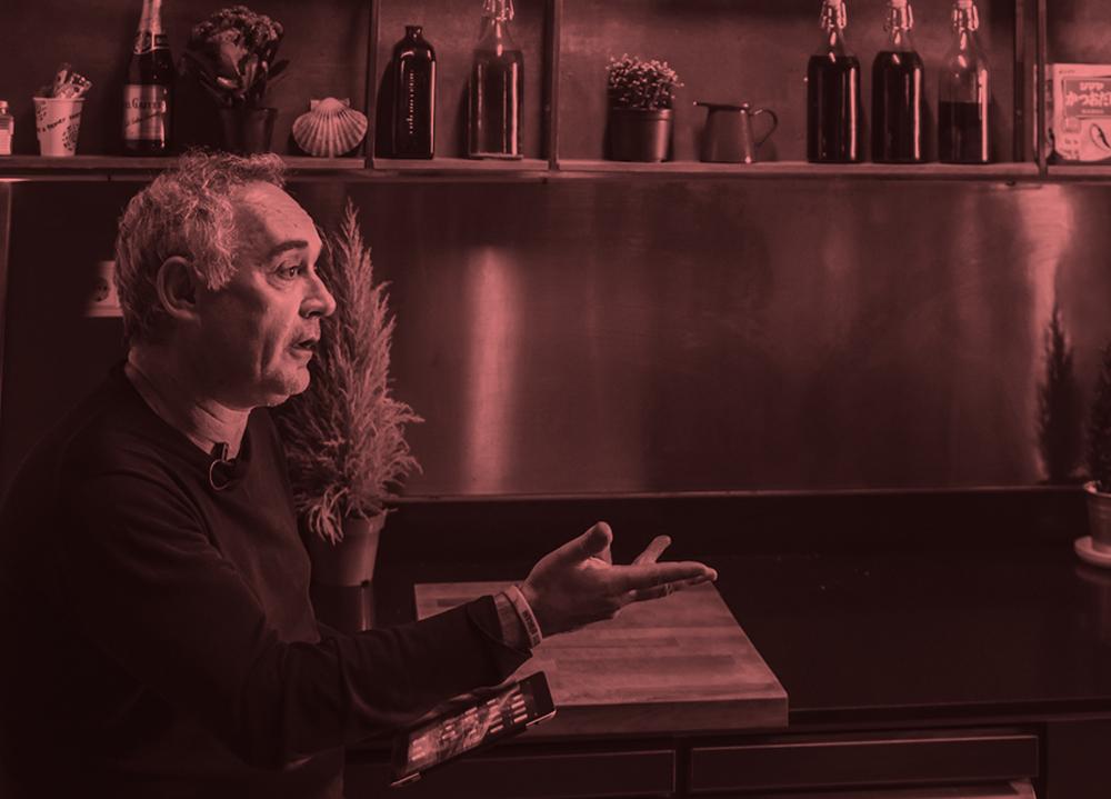 «Si un cocinero quiere ser disruptivo, corre el riesgo de no ser entendido», Ferran Adrià