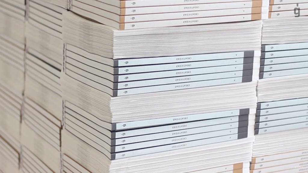 4.000 portadas diferentes, tinta blanca digital,… Así se hizo Gràffica #4 - 8