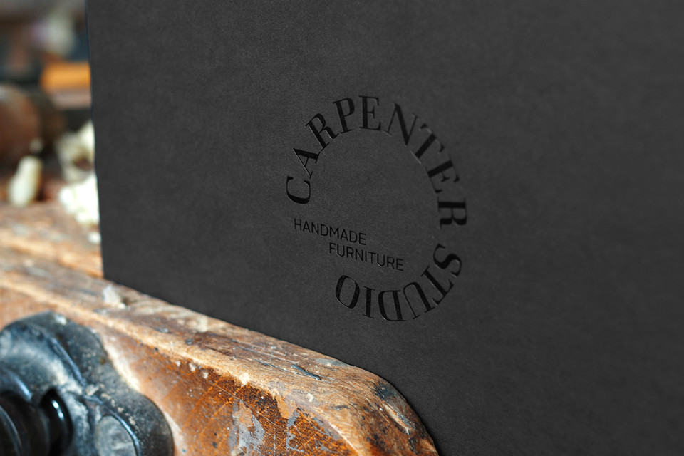 Logotipo de Carpenter Studio por Minima Advertising People