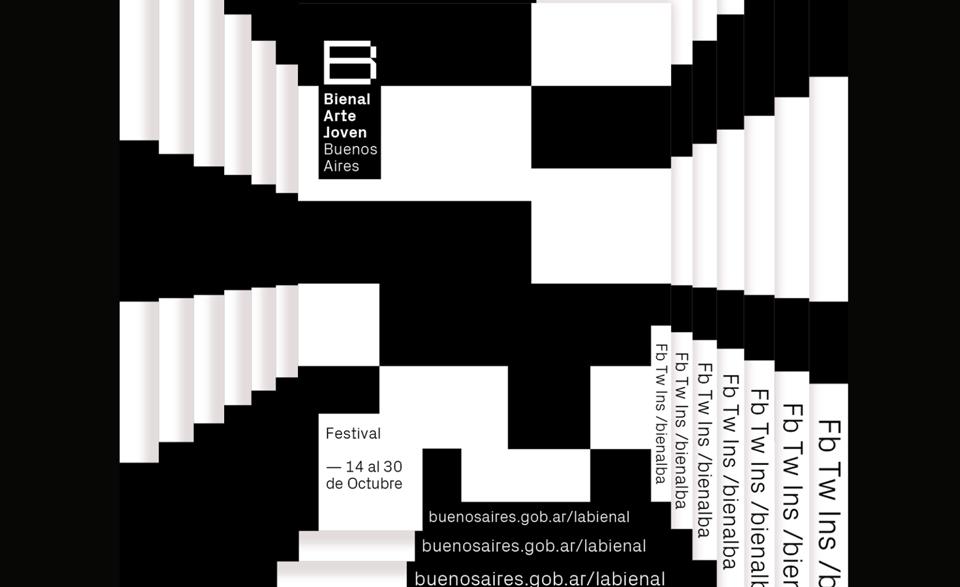 Cinco crea la mejor imagen de la Bienal Joven Buenos Aires que se recuerde - 1