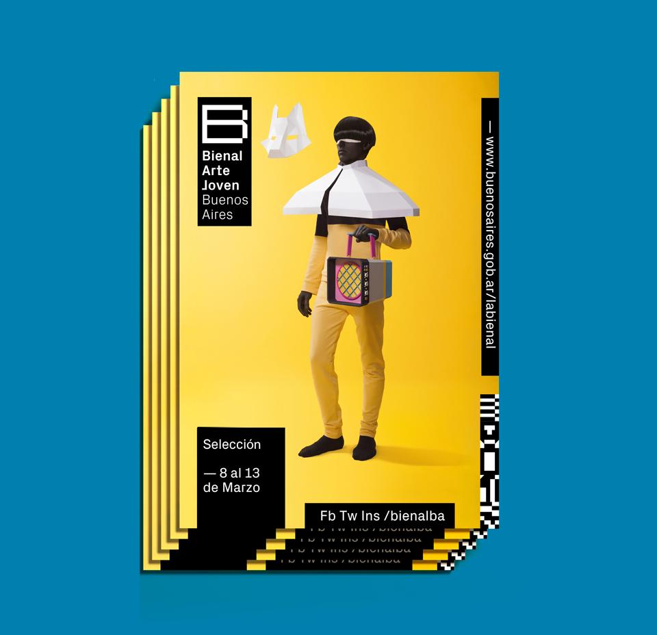 Cinco crea la mejor imagen de la Bienal Joven Buenos Aires que se recuerde - 11