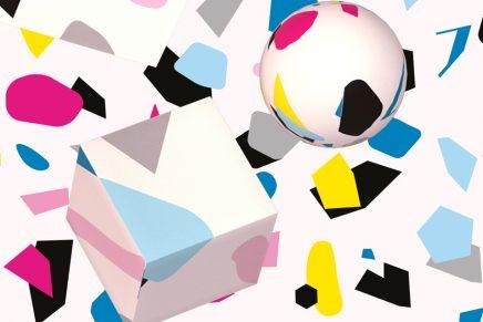 La imagen de la Bienal Joven Buenos Aires diseñada por Cinco
