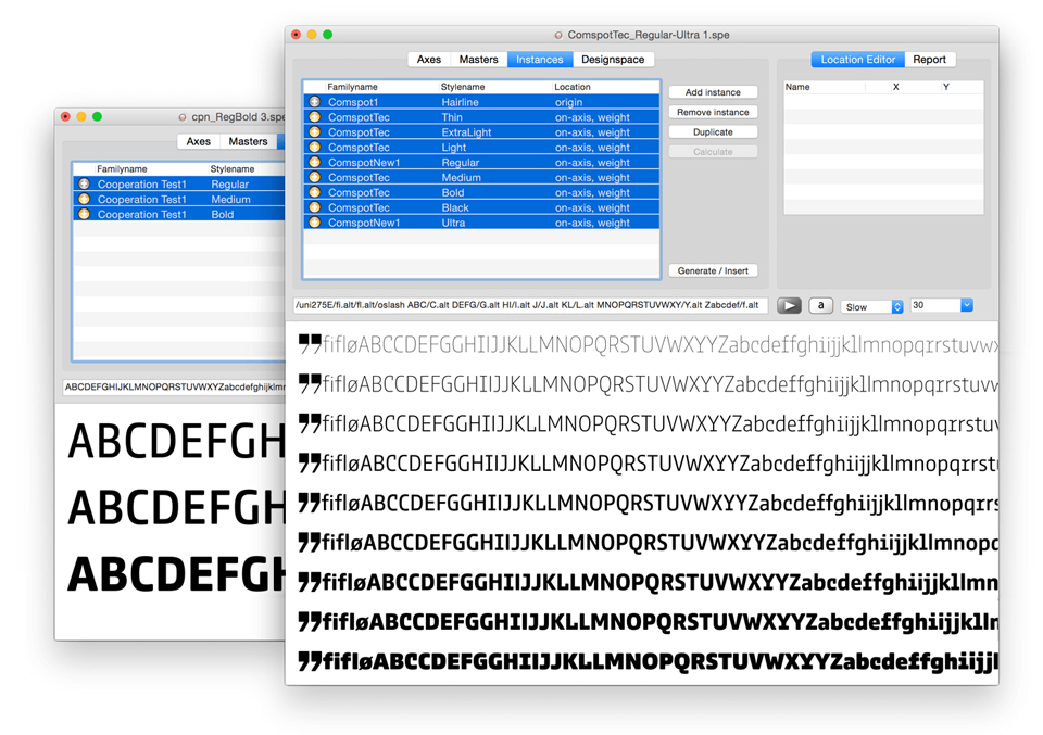 Comspot, una tipografía con sabor a tipografía de máquina de escribir - 7