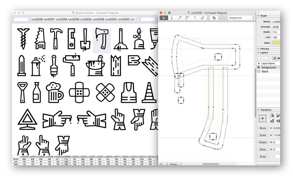 Comspot, una tipografía con sabor a tipografía de máquina de escribir - 13