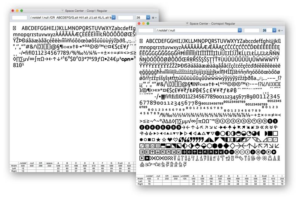 Comspot, una tipografía con sabor a tipografía de máquina de escribir - 10
