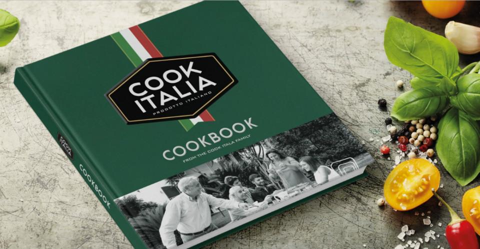 Nuevo logo de la marca 'Cook Italia'